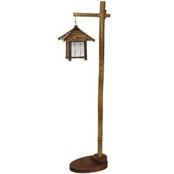5ft Tall Yama Bamboo Lantern Stand