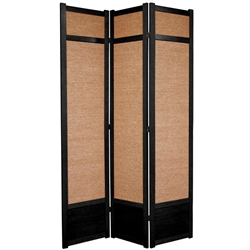 7 ft Tall Jute Shoji Room Divider Screen more panels finishes